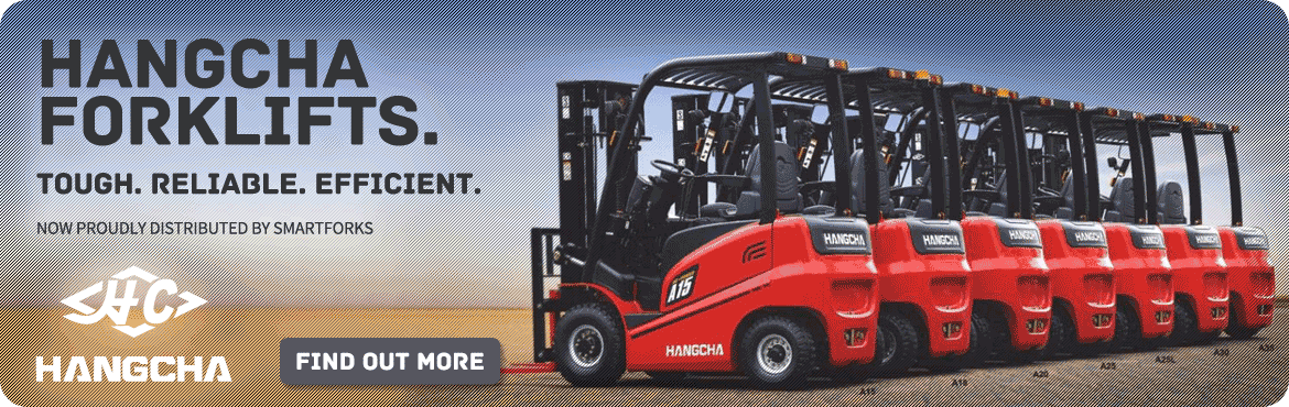 Hangcha Forklifts at Smart Forks